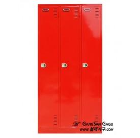 옷장 3x6 - 3인용 (빨강)