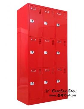 사물함 3x6 - 9인용 (빨강)