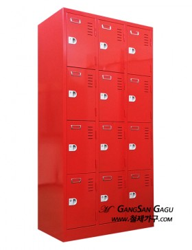 사물함 3x6 - 12인용 (빨강)